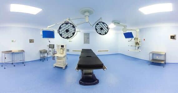OR at Hospital CMQ RIviera Nayarit, part of Hospital CMQ Puerto Vallarta