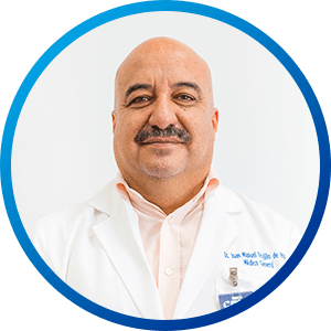 Dr Juan Manuel Trujillo, MD. walk-in clinics and urgent care at Hospital CMQ in Puerto Vallarta