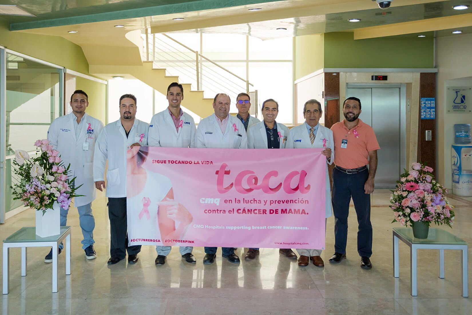 CMQ Hospitals supporting breast cancer awareness