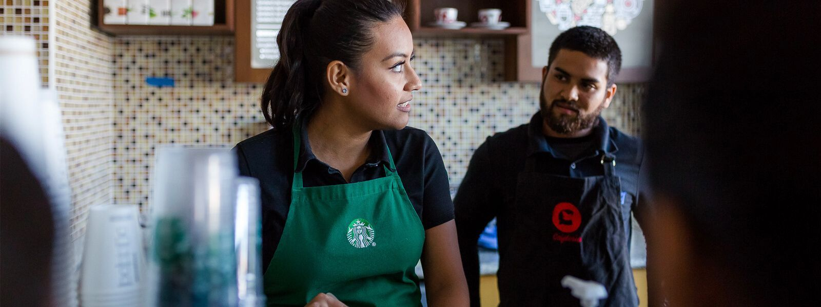 At CMQ Cafeterias, We Proudly Serve Starbucks