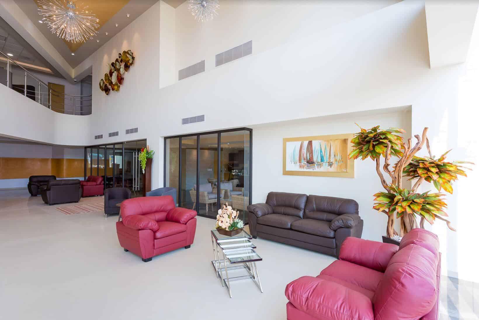 Lobby Hospital CMQ Riviera Nayarit