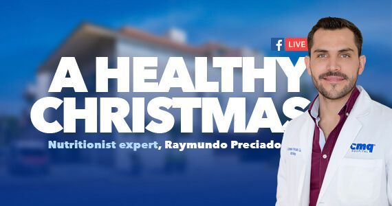 A healthy Christmas, live streaming with Nutritionist expert Raymundo Preciado
