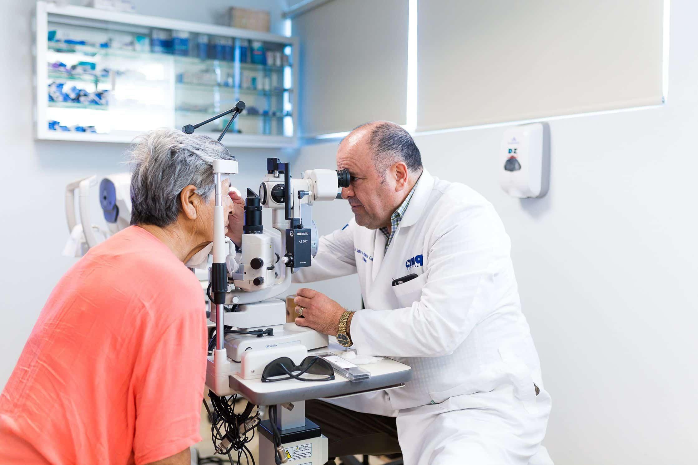 Dr. Jaime Aniceto Miramontes, ophthalmologist