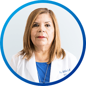 Dra Leticia Aguilar, Medical Specialist in Pediatrics