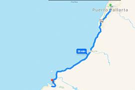 Mapa-Mismaloya