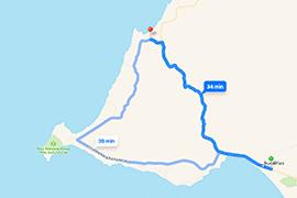 Mapa-Sayulita