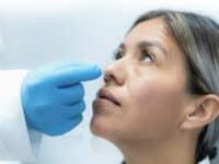 Antigen test at Hospital CMQ