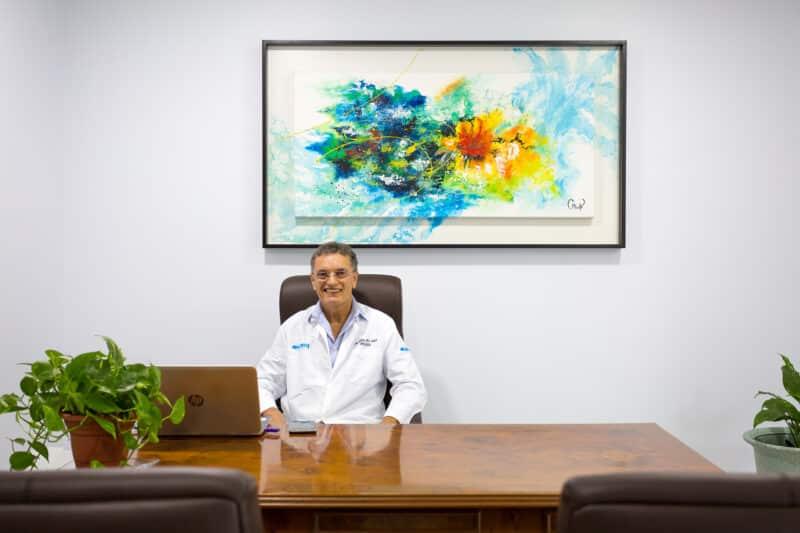 Consultorio Dr. Raúl Meza, Torre Médica CMQ