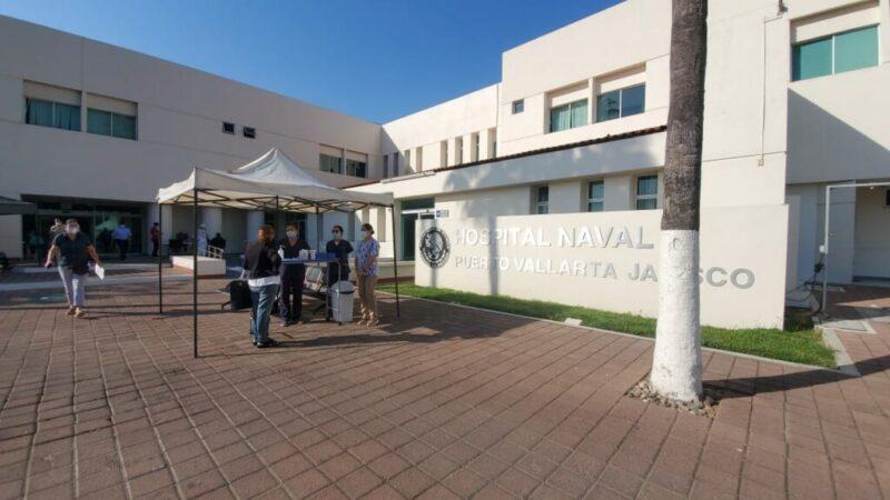 Modulo de Covid en Hospital Naval